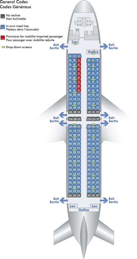air transat selection siege air canada airbus 333 seating plan