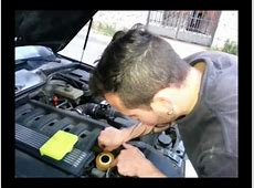 Cambio aceite bmw + reset oil service YouTube