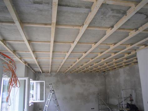 Unterkonstruktion Für Decke In Wohnesszimmerküche Fertig