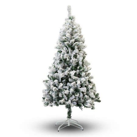 heavy flocked christmas tree clearance 5 snow flocked artificial tree walmart