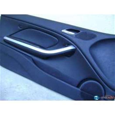 panneau interieur cuir noir porte avant gauche chauffeur