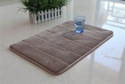 Mat Bathroom Carpet Foam Soft Memory Slip