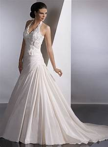 Best 25 halter wedding dresses ideas on pinterest for Cheap wedding dress stores near me