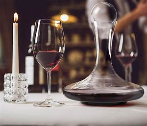 Venero, Wine, Decanter, Aerator, Set, -, Lead, Free, Crystal, Glass, Carafe, And, Stopper