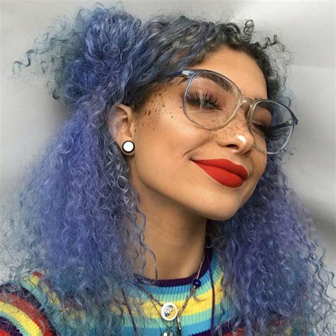 Blue Smoke Royal Blue Vegan Semi Permanent Hair Dye