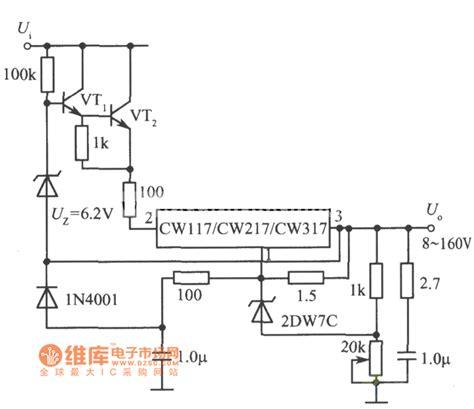 Adjustable Integrated Voltage Regulator Circuit
