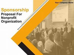Sponsorship Proposal For Nonprofit Organization Powerpoint ...
