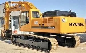 Hyundai Crawler Excavator R450lc