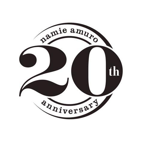 安室奈美恵 / Namie Amuro 20th Anniversary gallery logotype