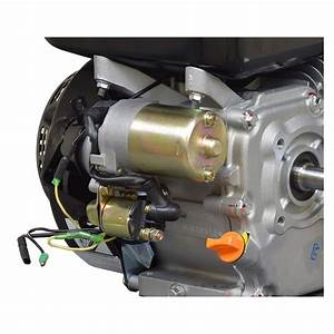 Electric Starter Motor With Solenoid For 6 5 Hp 196cc Go