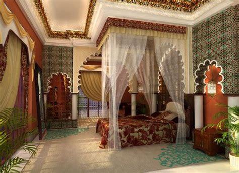 A Luxury Moroccan Bedroom. #luxury #bedrooms #decor. Www