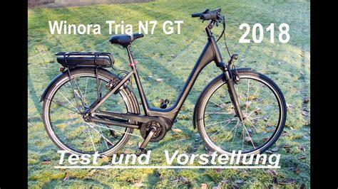 sinus e bike test winora sinus tria n7 gt e bike 2018 bosch active plus test und vorstellung