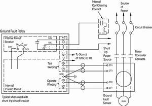 Wiring Diagram For Shunt Trip Breaker