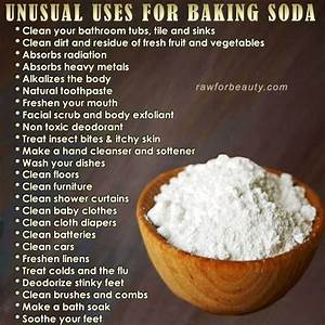 199 Best Images About Baking Soda Benefits On Pinterest