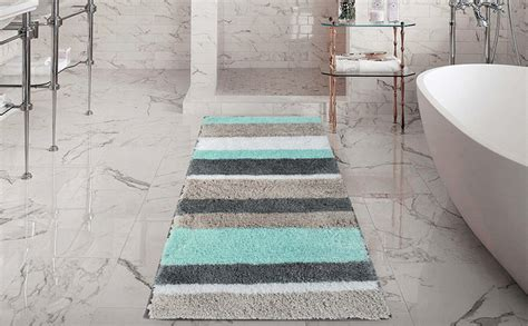amazoncom hebe extra long bath rug runner  bathroom