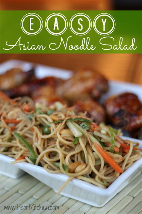easy noodle salad easy asian noodle salad