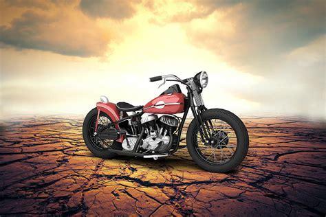 Harley Davidson Wla Bobber 1945