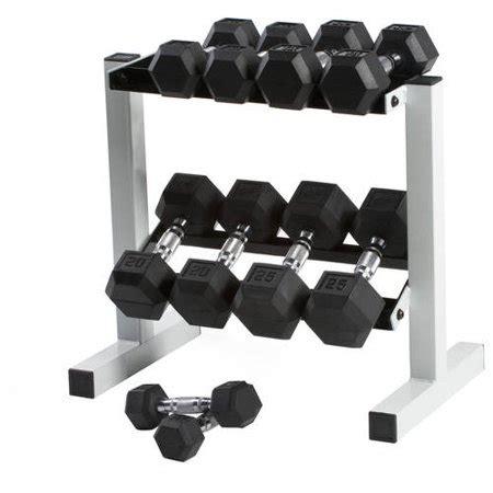 weight rack walmart cap 150 lb rubber hex dumbbell weight set 5 25 lb with