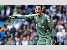 Keylor Navas Not Thinking About Leaving Real Madrid