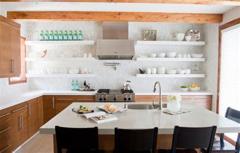 open shelves kitchen design ideas - Open Kitchen Shelving