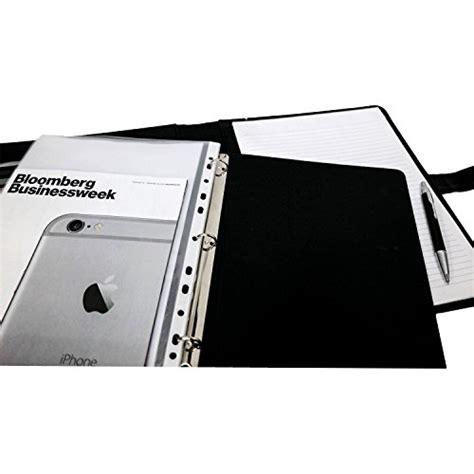 executive resume portfolio padfolio removable 3 ring