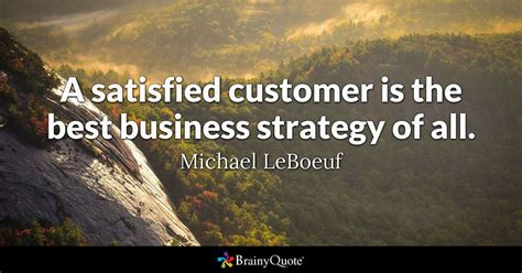 satisfied customer    business strategy