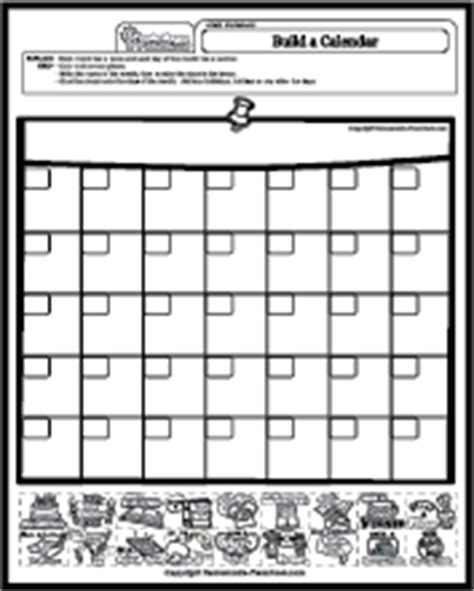 math worksheets calendar