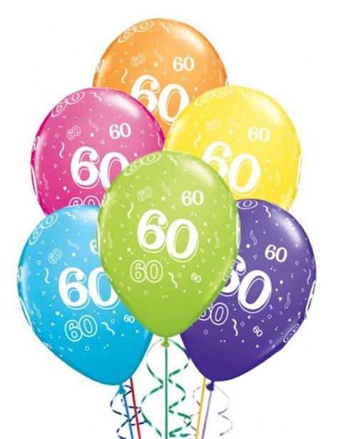 multi table l ballons anniversaire 60 ans x6 mister