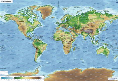 Carte Des Mers Dans Le Monde by Infos Sur Carte Des Mers Du Monde Arts Et Voyages