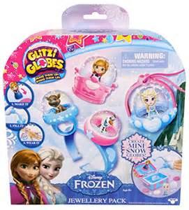 glitzi globes disney frozen jewelry pack home garden decor snow
