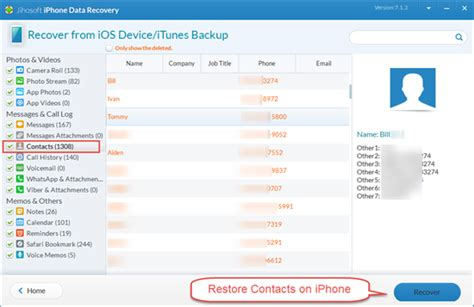 how to restore contacts on iphone how to recover deleted contacts on iphone mobile phones