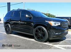 GMC Acadia with 22in Lexani Johnson II Wheels exclusively