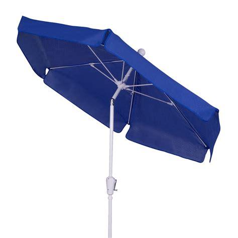 shop fiberbuilt home pacific blue market patio umbrella at