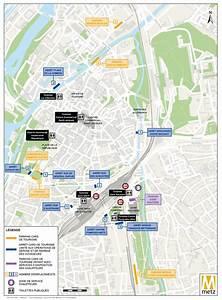 Plan De Metz : plan et stationnement de bus groupes et scolaires site ~ Farleysfitness.com Idées de Décoration