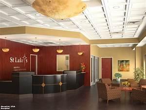 3D Photo Realistic Interior-Visualization Hospital Lobby ...