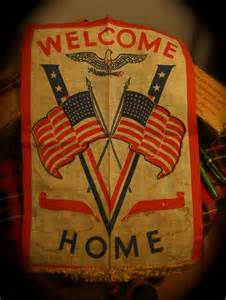 Welcome Home Flags From WWII