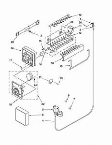 Icemaker Parts Diagram  U0026 Parts List For Model M0rxemmwb00