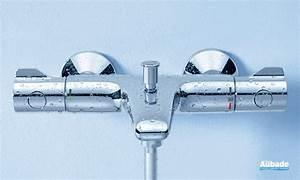 Mitigeur Thermostatique Douche Grohe : robinets pour bain douche grohtherm 800 grohe espace aubade ~ Dailycaller-alerts.com Idées de Décoration