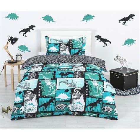 house home kids quilt cover set dinosaur big