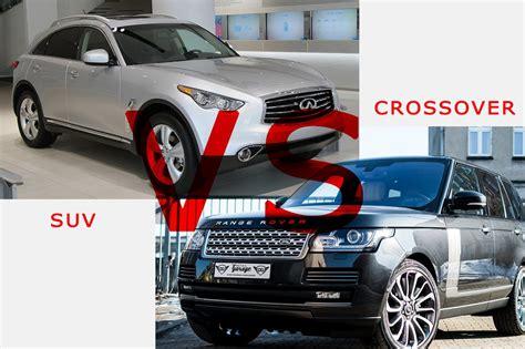 Crossover Vs Suv by Suvs Vs Crossovers Best Car Finder
