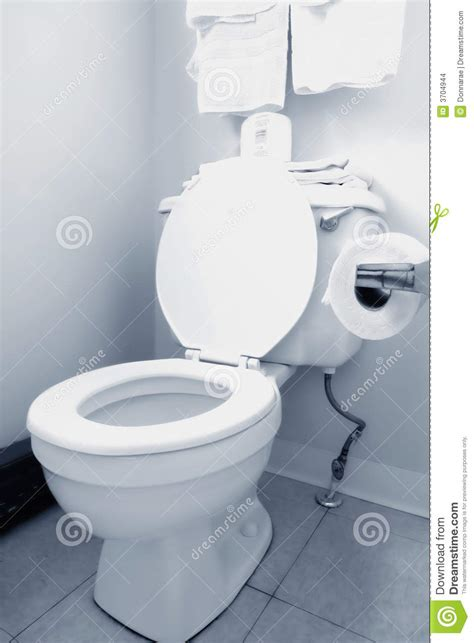 clean white toilet in bathroom stock photo image of modern concept 3704944