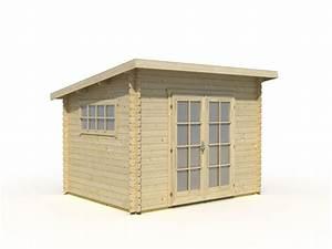 Gartenhaus 28 Mm Pultdach : gartenhaus ibiza 1 flachdach pultdach 320 x 260 cm 28 mm ~ Whattoseeinmadrid.com Haus und Dekorationen
