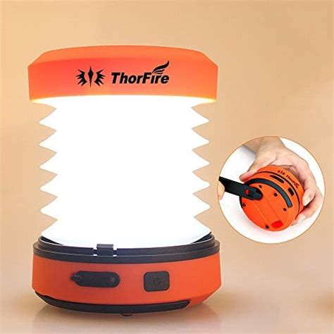 camping lantern led rechargeable thorfire mini crank hand light usb lights torch jogging flashlight cl01 tent hiking emergency lamp survival
