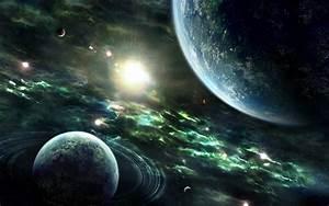 Sci Fi Planets wallpaper - 413786