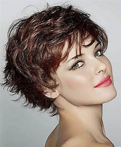 Lovely Curly Sh... Short Hairstyles 2019
