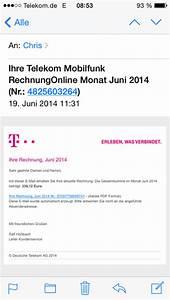 Telekom Rechnung De : email telekom weissstudio ~ Themetempest.com Abrechnung