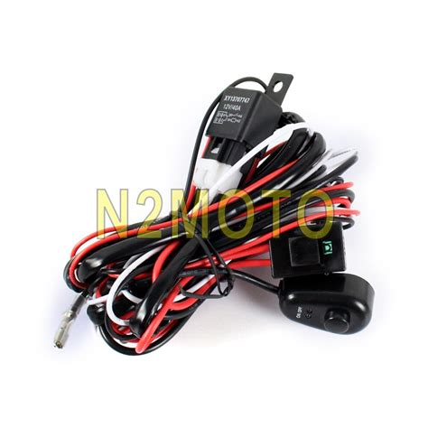 Auto Wire Harnes Cover by Car Auto Led Hid Spotlight Wire Harness 12v 40a Relay 2 5m