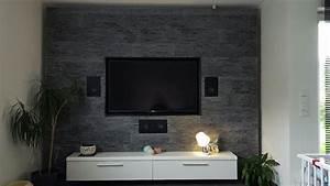 Steinwand Wohnzimmer Selber Machen : nett styropor steinwand deko wohnzimmer sch ne youtube ~ Michelbontemps.com Haus und Dekorationen
