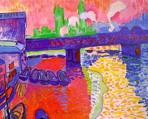 Tugboat On The Seine Chatou by History News Henri Matisse Andr 233 Derain Georges