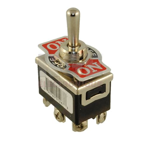 Momentary Toggle Switch Dpdt Off